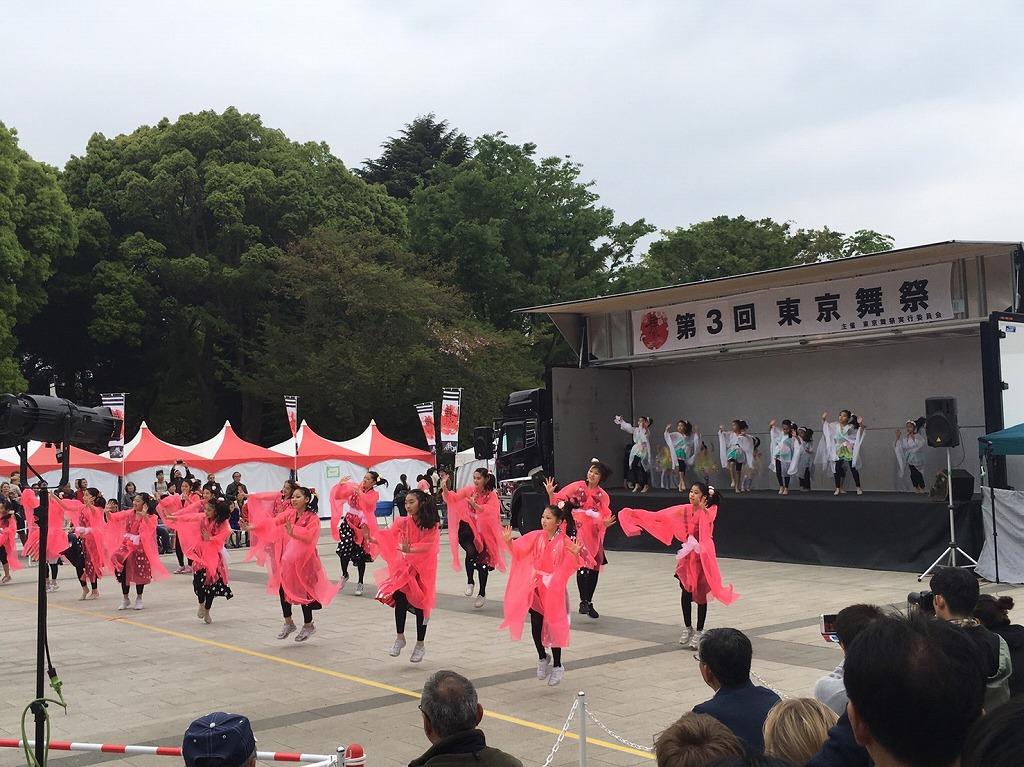 東京舞祭 in 上野恩賜公園 '17-04-25~26